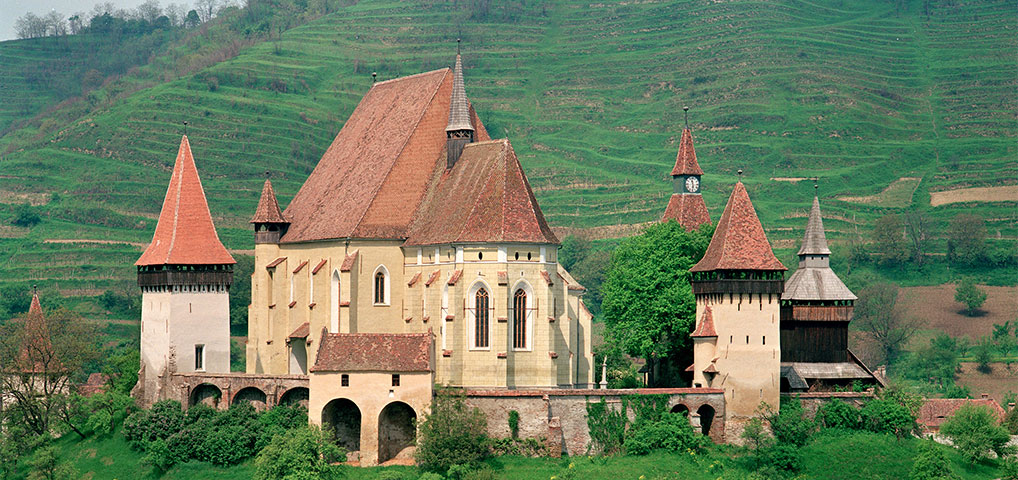 Biertan Fortified Church, Biertan, Romania