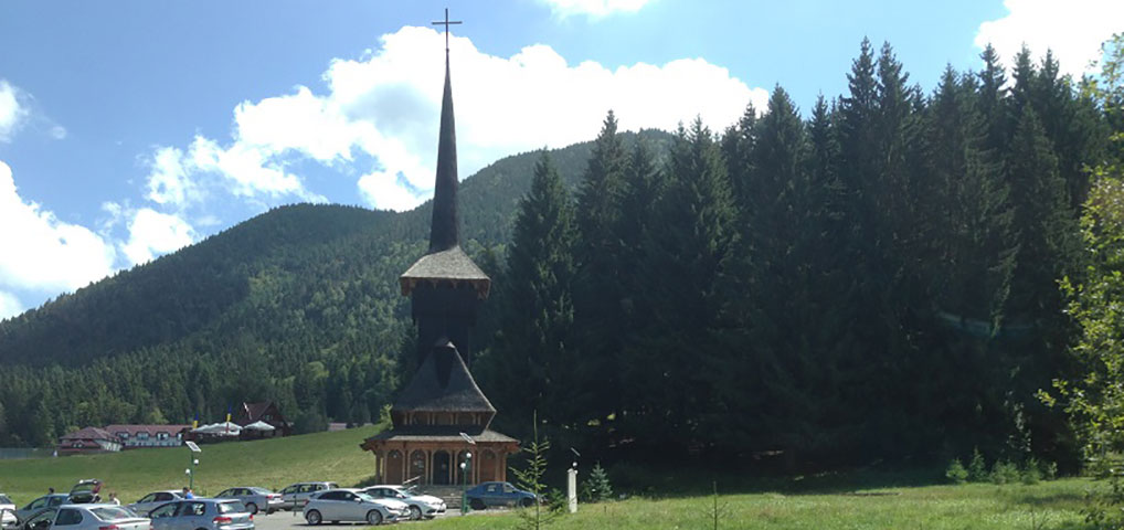 St. John the Baptist Wooden Church, Poiana Brasov, Romania