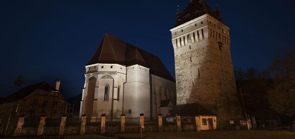 Saschiz Fortified Church, Saschiz, Romania